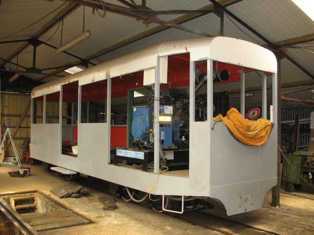 Retour de balade (petit train de St Trojan ) Wagons13