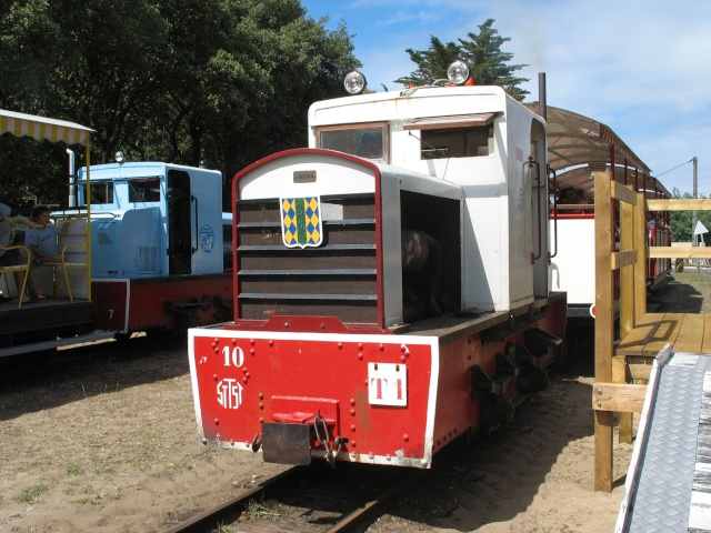 Retour de balade (petit train de St Trojan ) Wagons14