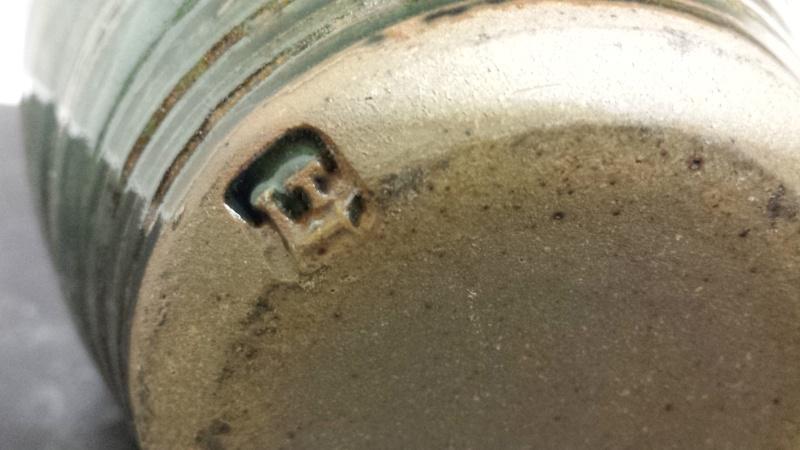 Stoneware jug, LD or LT? Lowerdown? -  Louis Thompson?  20150122