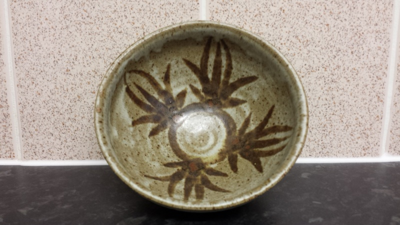 id help on stoneware bowl - Cooper or Rait Pottery?  20150249