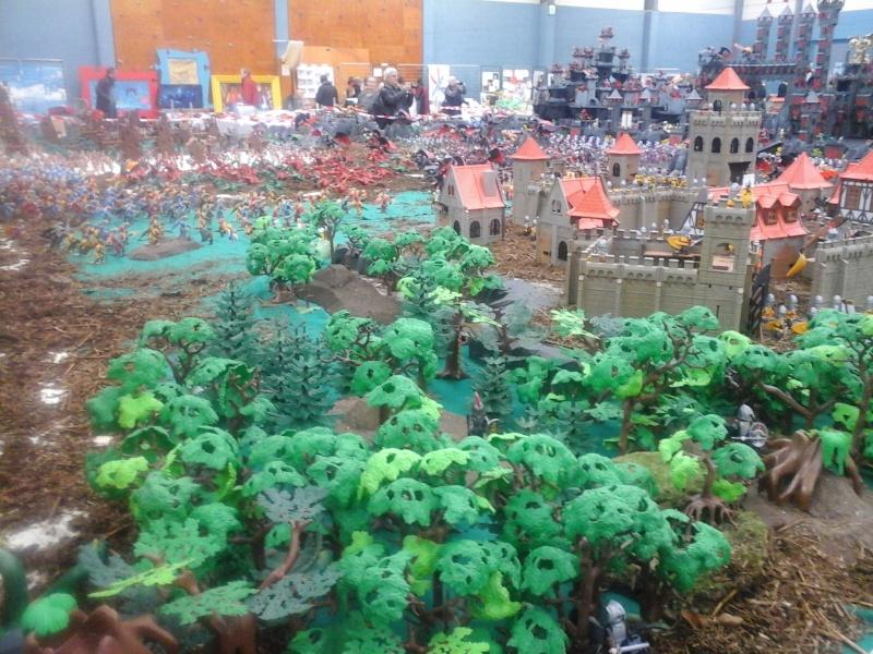 diorama geant playmobil medieval (st cyr en val) 20150115