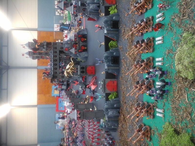 diorama geant playmobil medieval (st cyr en val) 20150117