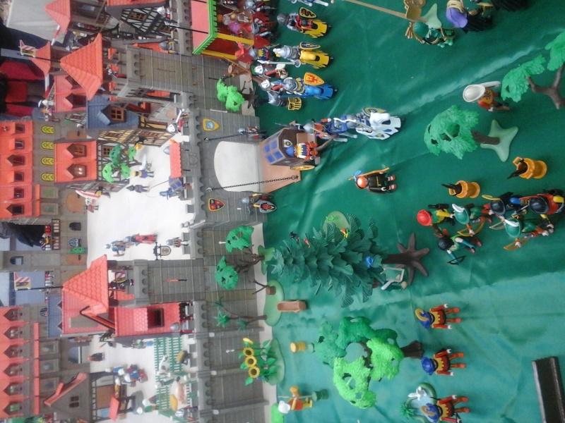 diorama geant playmobil medieval (st cyr en val) 20150118