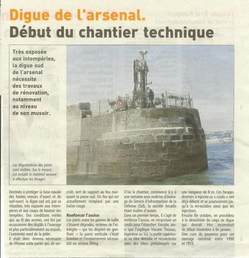 [Les ports militaires de métropole] Port de BREST - TOME 2 - Page 4 Jcr_0020
