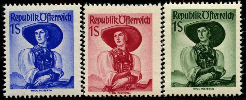 Republik Österreich 1.- S rot, Wert!! Img56210