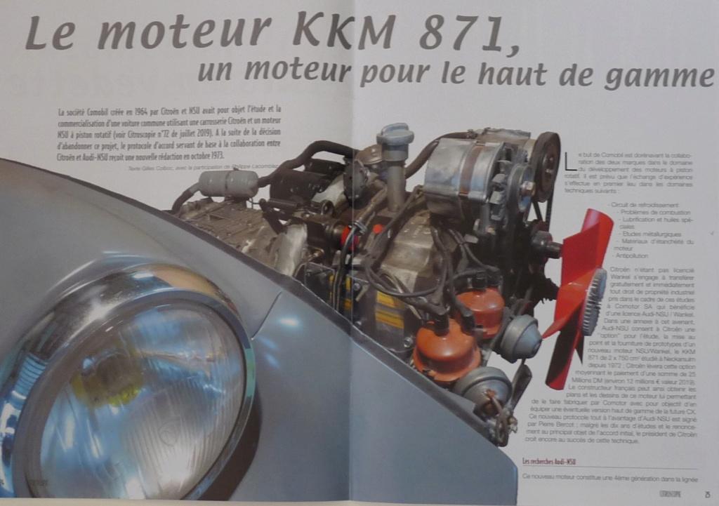LE KKM 871  UN MOTEUR POUR LE HAUT DE GAMME P1270810