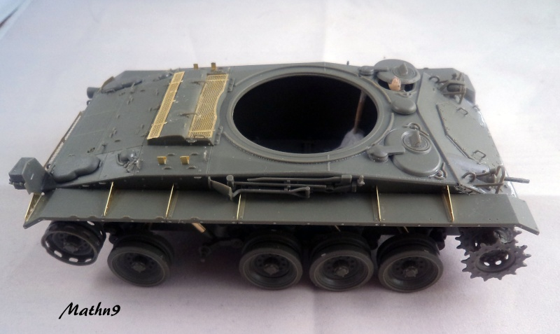 M24 Chaffee AFV Club 1/35 Dsc02722