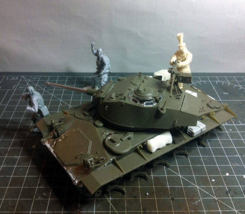 M24 Chaffee AFV Club 1/35 Img_1954