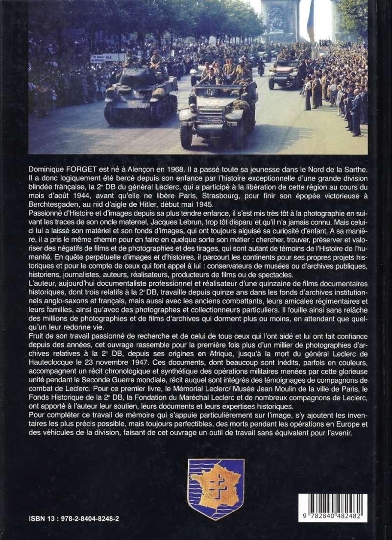 Dominique FORGET - Le Général Leclerc et la 2e DB 1944-1945 Img81410
