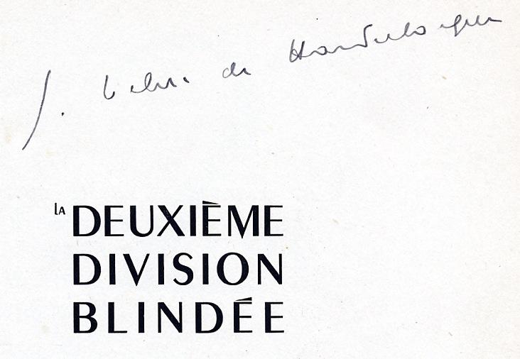 La 2e DB en France Général Leclerc Combats et combattants Img82410