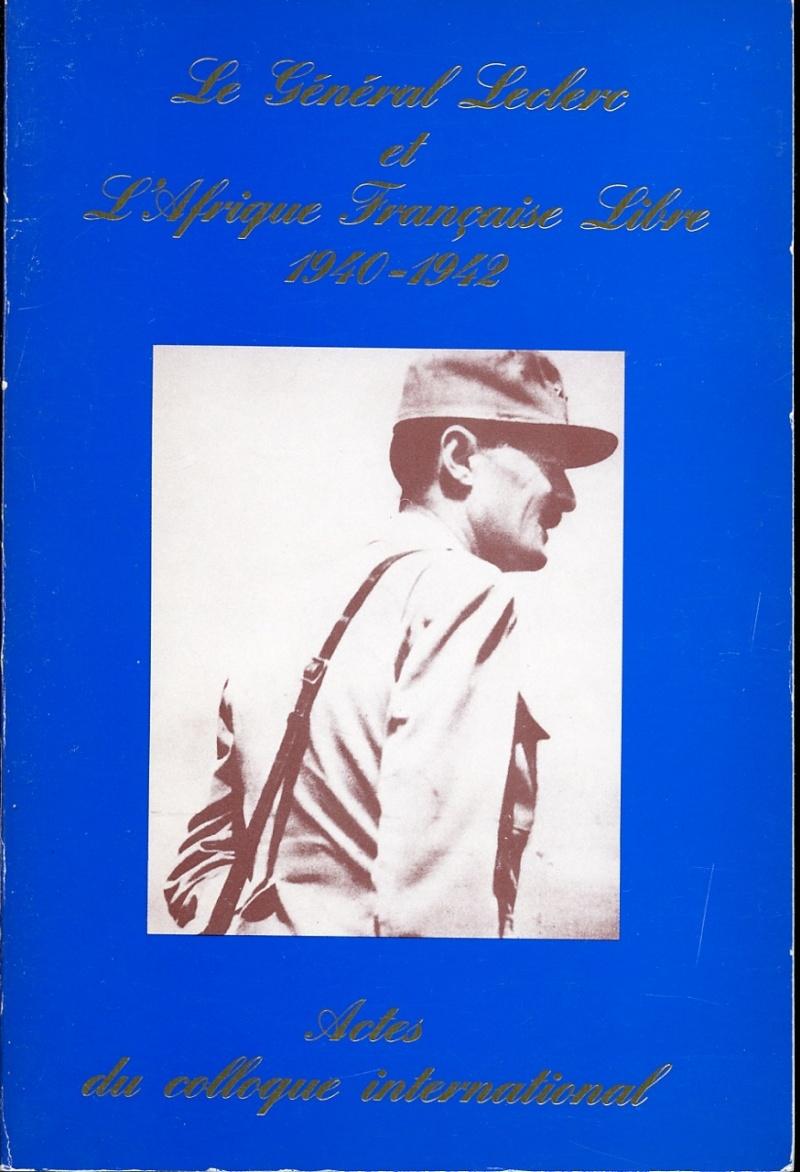 Fond. LECLERC - Le Gal Leclerc et l'Afrique Française Libre Img82610