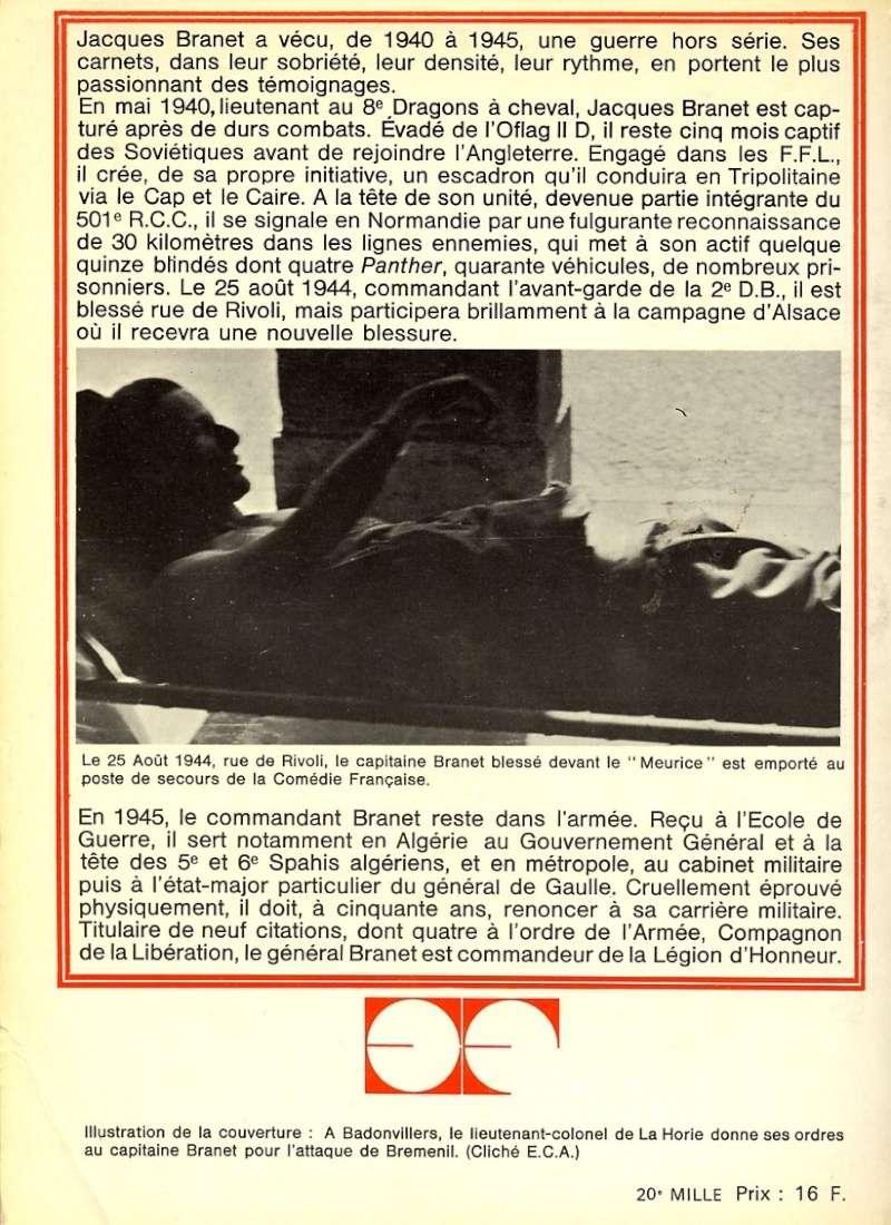 Jacques BRANET - L'escadron Carnets d'un cavalier Img84810