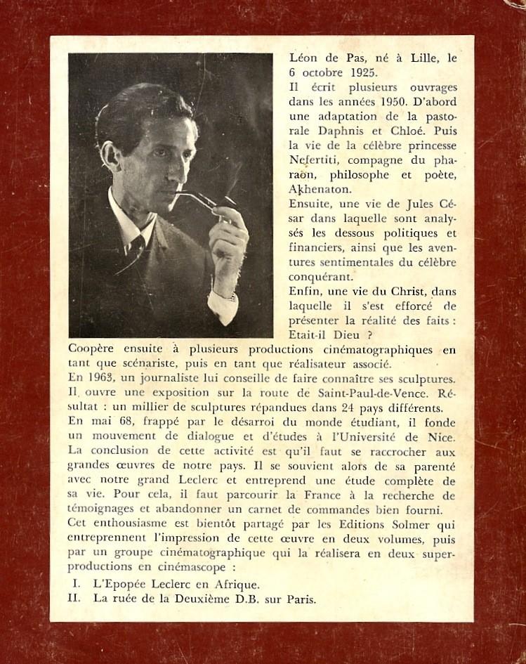 Léon de PAS - Leclerc Un Dieu pour ses Hommes Img85210