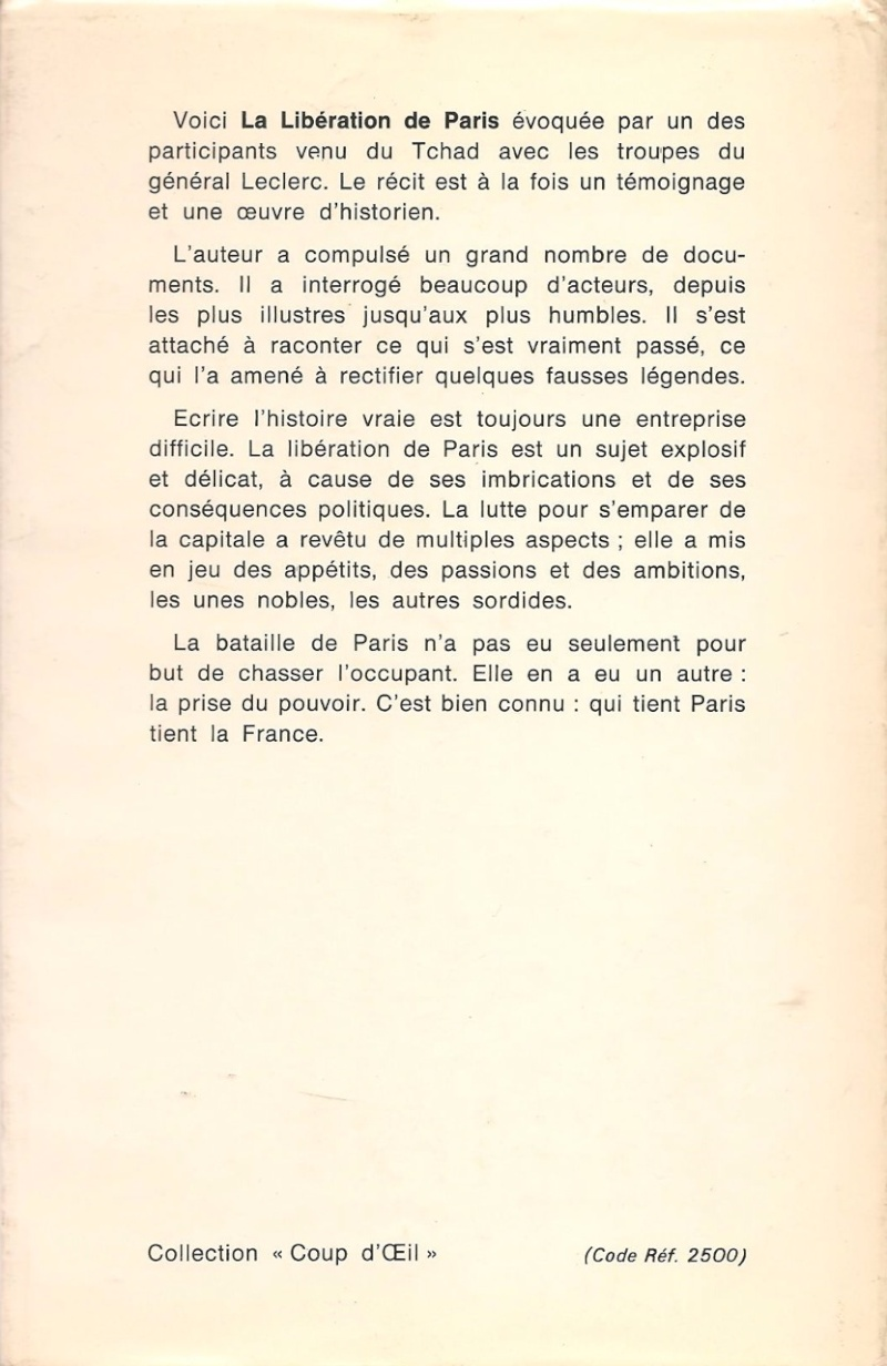 Raymond DRONNE - La libération de Paris Libera11