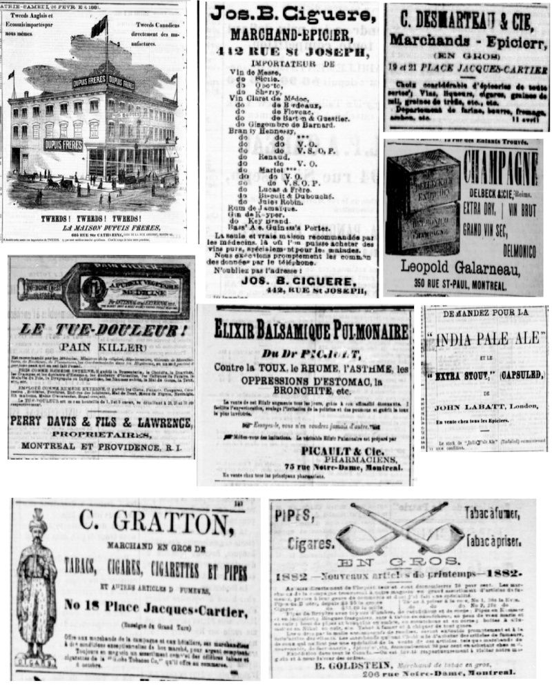 Vieille pub de journaux Feuill14