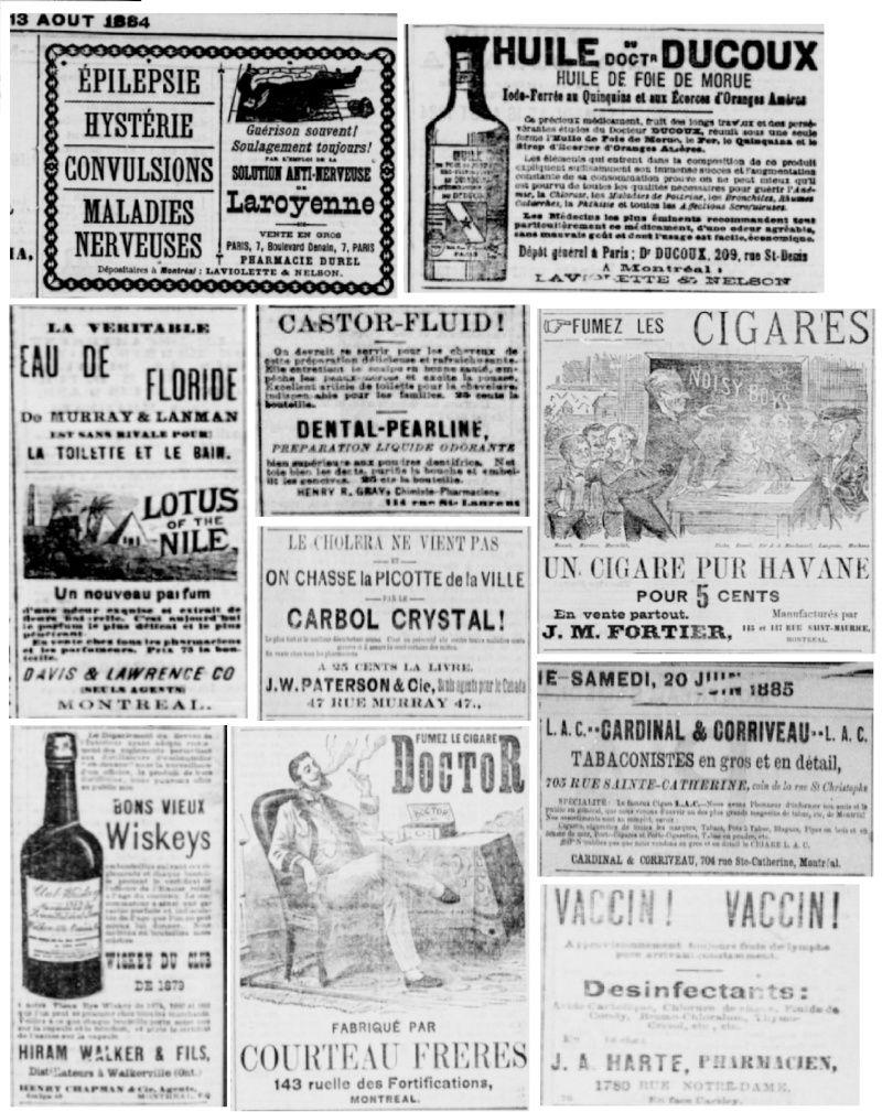 Vieille pub de journaux Feuill16