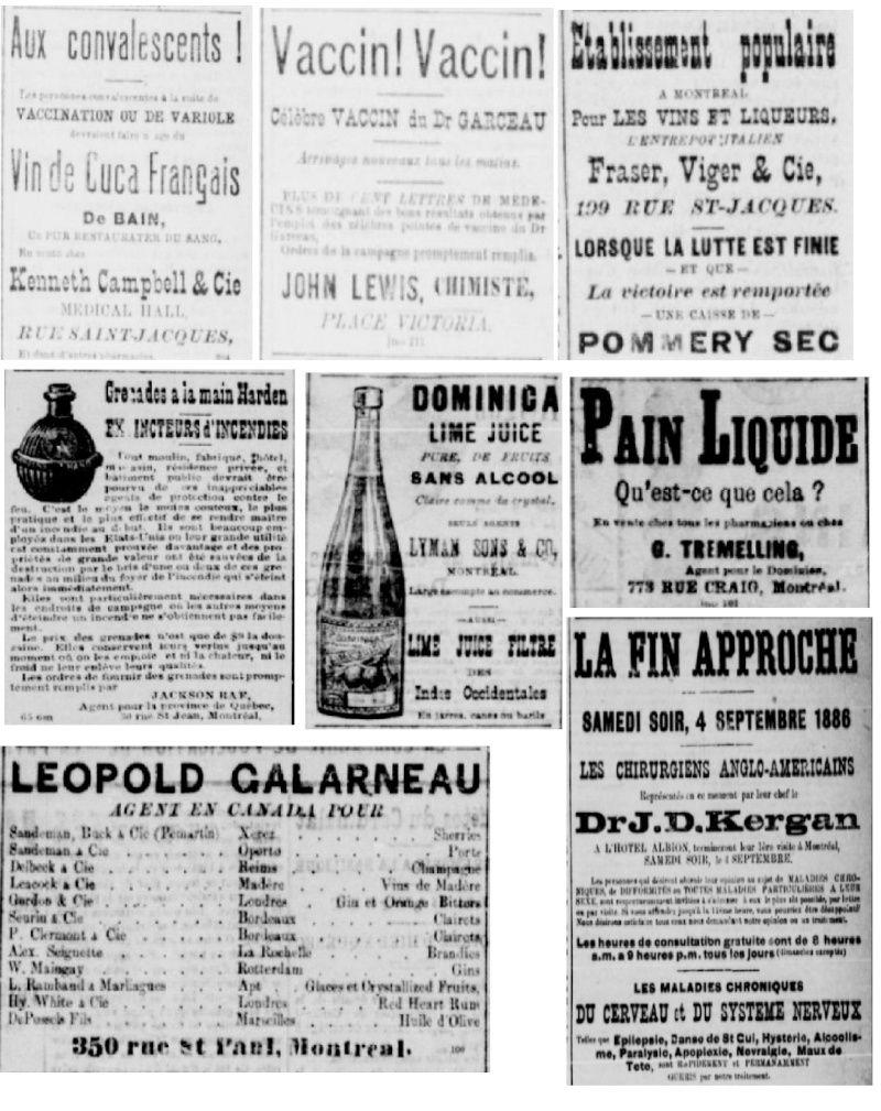Vieille pub de journaux Feuill17