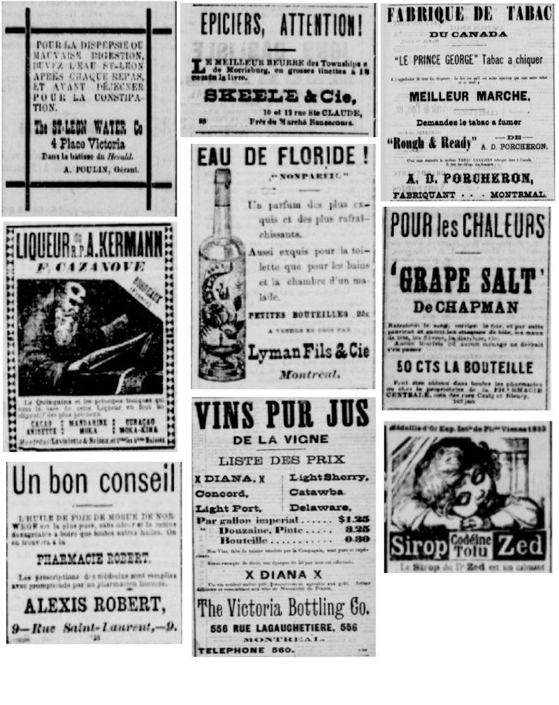 Vieille pub de journaux Feuill18