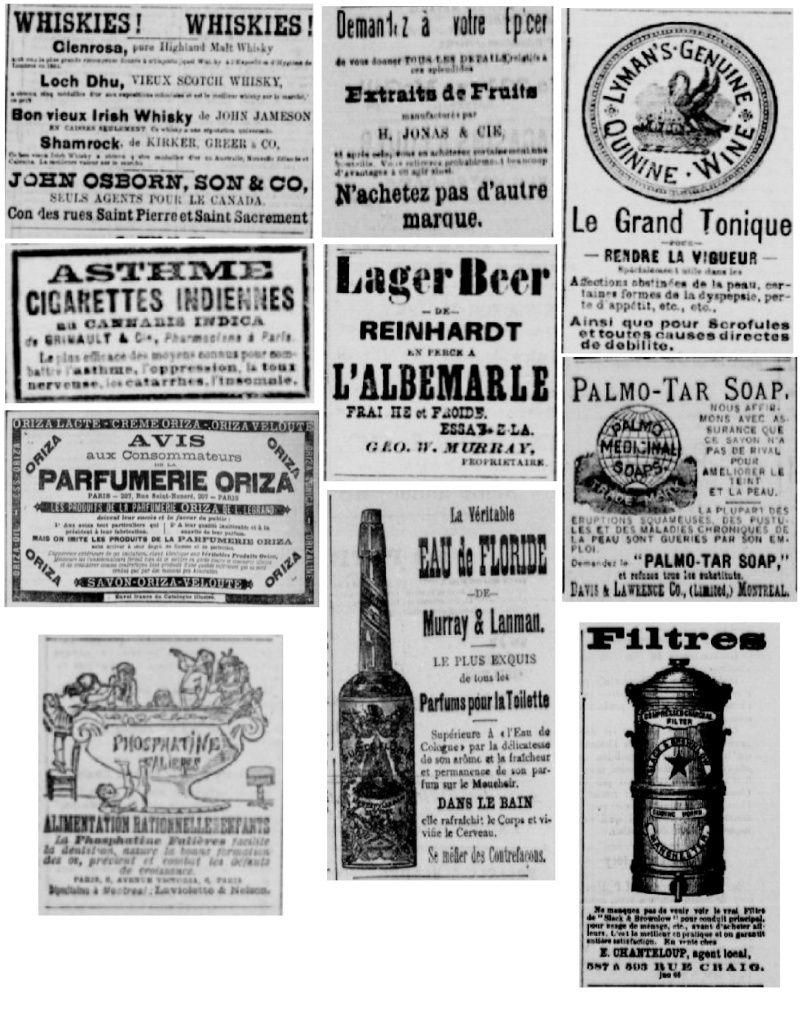 Vieille pub de journaux Feuill19