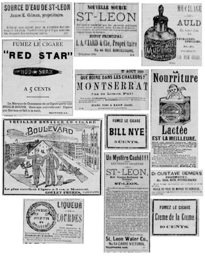 Vieille pub de journaux Feuill21