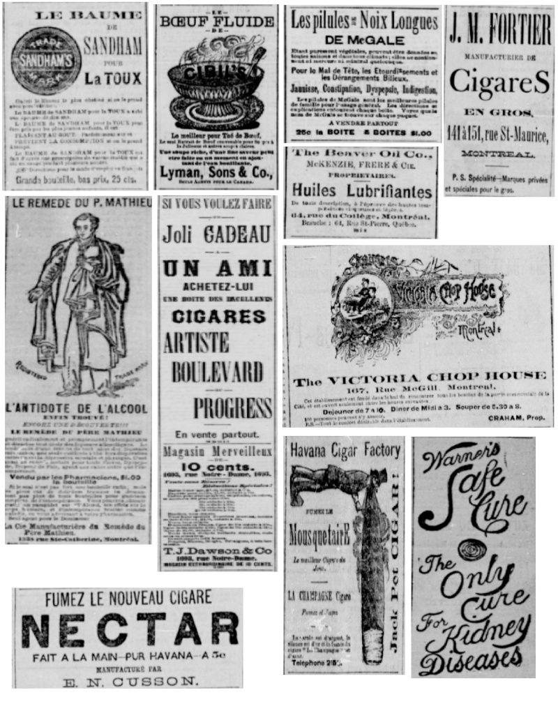 Vieille pub de journaux Feuill22