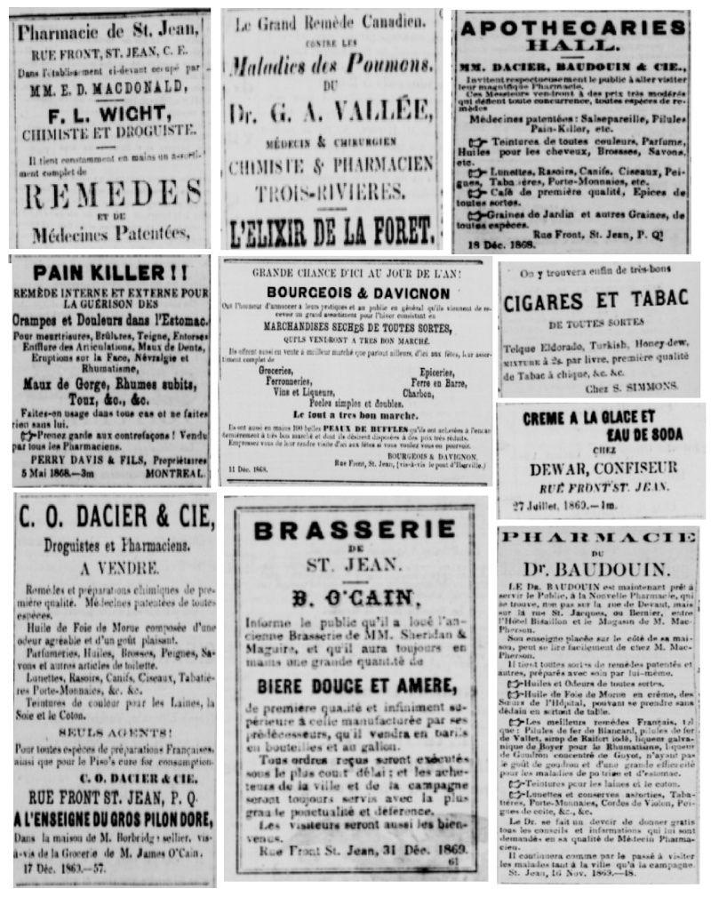 Vieille pub de journaux Feuill23