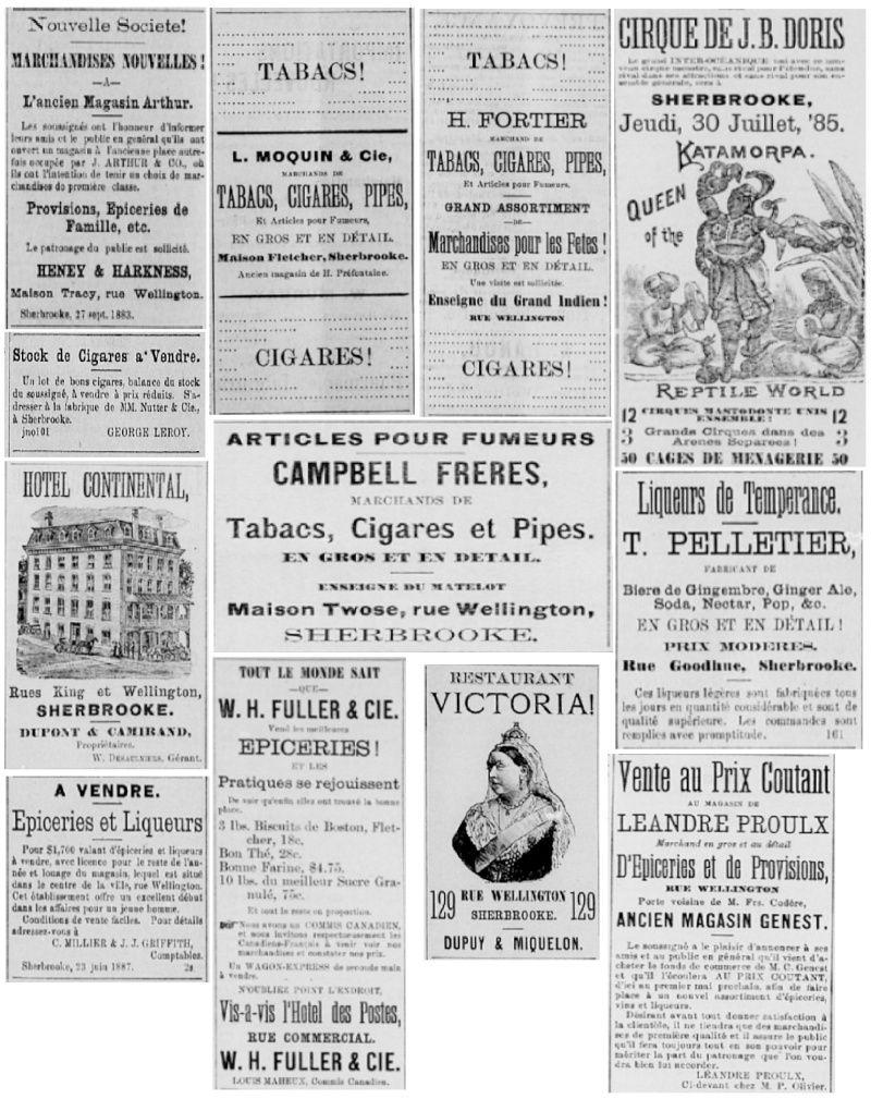 Vieille pub de journaux Feuill25