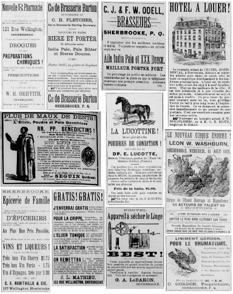 Vieille pub de journaux Feuill26