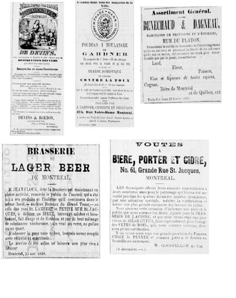 Vieille pub de journaux Feuill27