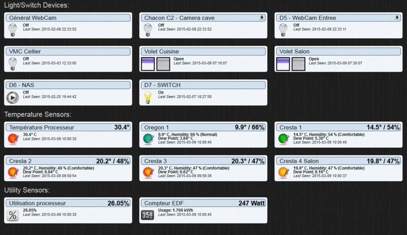 Raspberry Pi et domotique Switch10