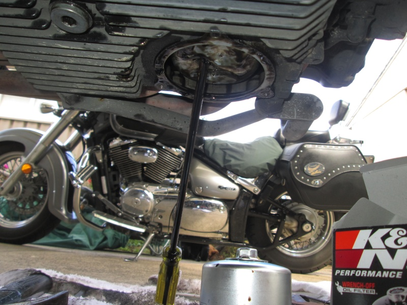 Oil Filter removal 01610