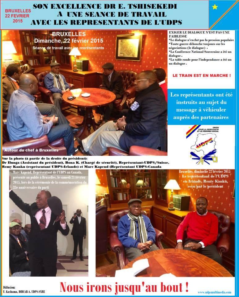 Etienne Tshisekedi réapparaît pour la première fois en public 14727_10