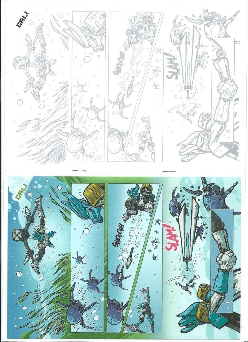 [Produit]Comics/Stickers BIONICLE 2015 Gali_b10