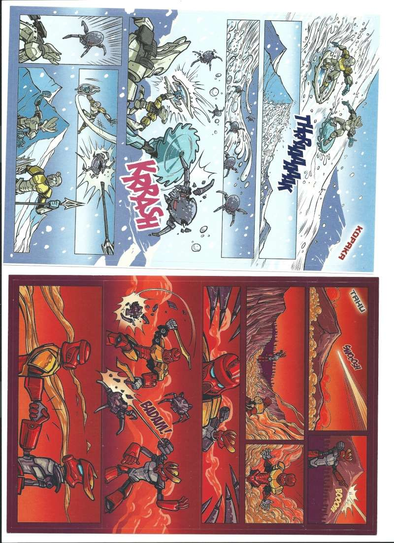 [Produit]Comics/Stickers BIONICLE 2015 Image10