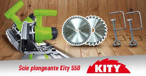 Scie Plongeante Kity 550