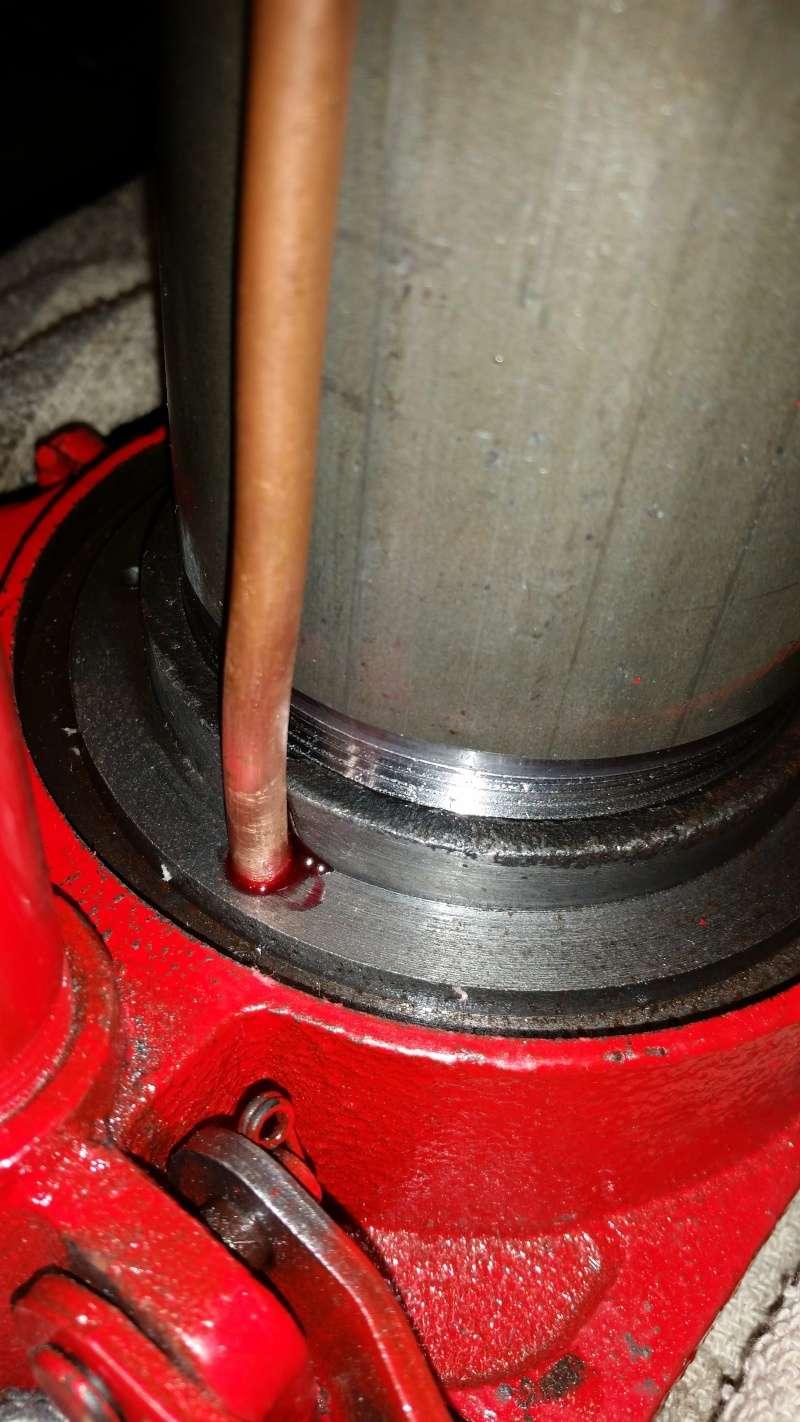 Modifications cric voiture pour presse hydraulique. Prepa_20