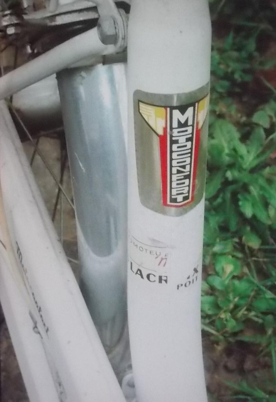 Motoconfort P.L.S. 1969 blanc [Sturmey Archer 2 v ]. 2015-061