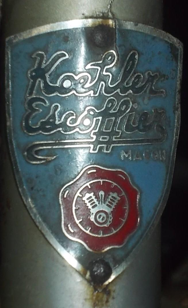 KOEHLER - ESCOFFIER  années 50 2015-073