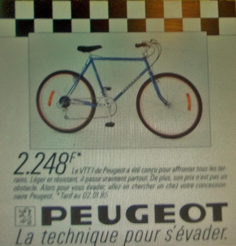 Vtt Peugeot crasy horse vtt1 bleu entre 1982 et 1984 ? 2015-196