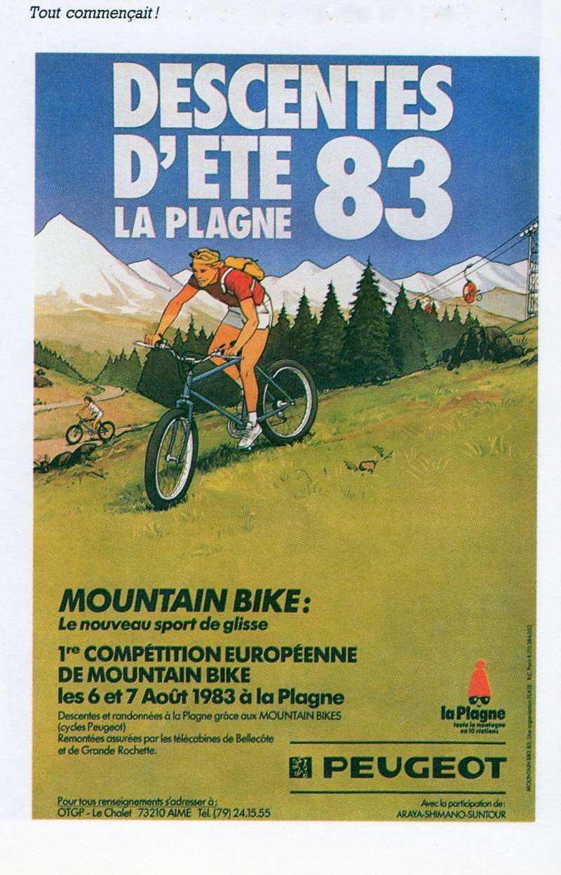 VTT Peugeot Alpine Express 11/1987 Affich10
