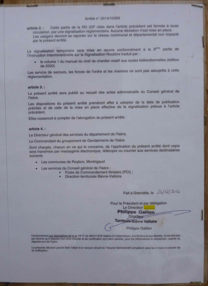 Programme 2015 - CDTE Drôme   Arrete10