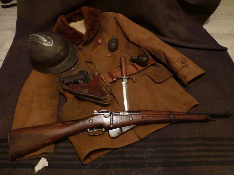 Autour d'une arme ... l'uniforme et l'équipement : quelques exemples P1210017