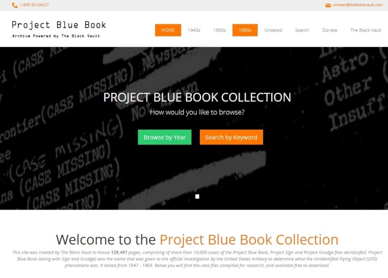 Recherche documentaire: The Project Blue Book Archive Bbbrow10