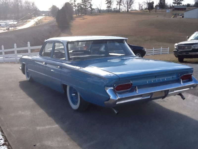 Buick 1961 - 1963 custom and mild custom 03010