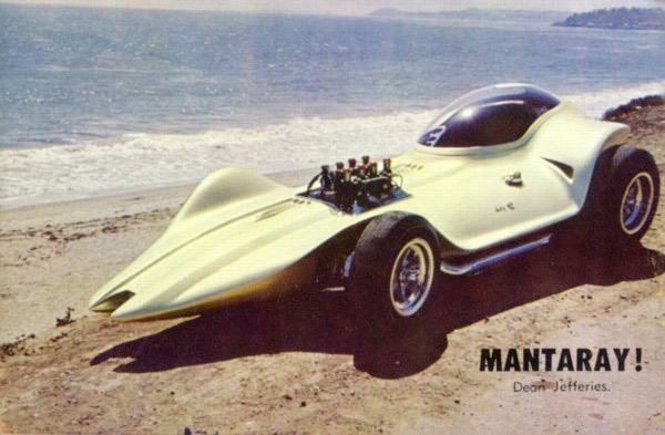 The Mantaray - Dean Jeffries 1011
