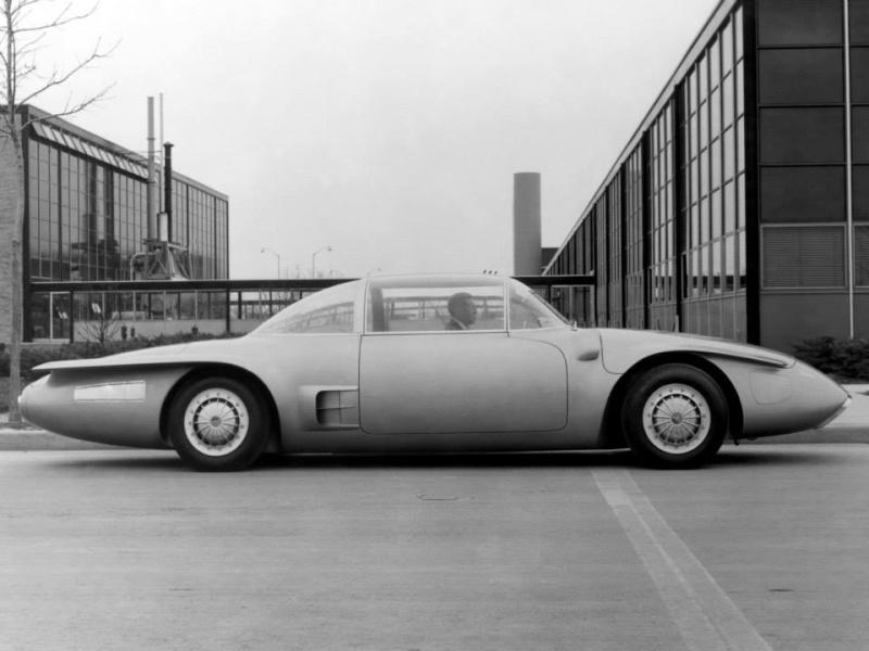 1956 GM XP-500 Free Piston Automobile Concept Car. 10171210