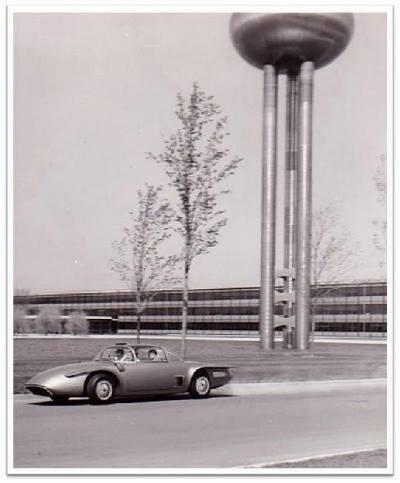 1956 GM XP-500 Free Piston Automobile Concept Car. 10268410
