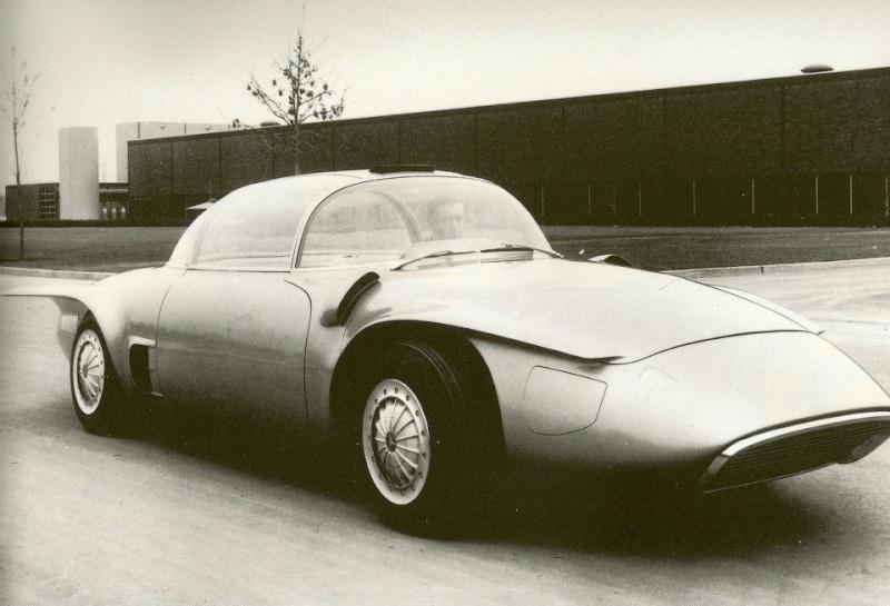 1956 GM XP-500 Free Piston Automobile Concept Car. 10298810