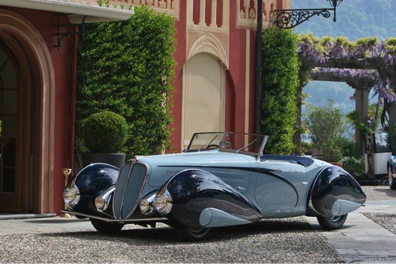 1937 Delahaye Figoni et Falaschi Torpedo Cabriolet 10384910