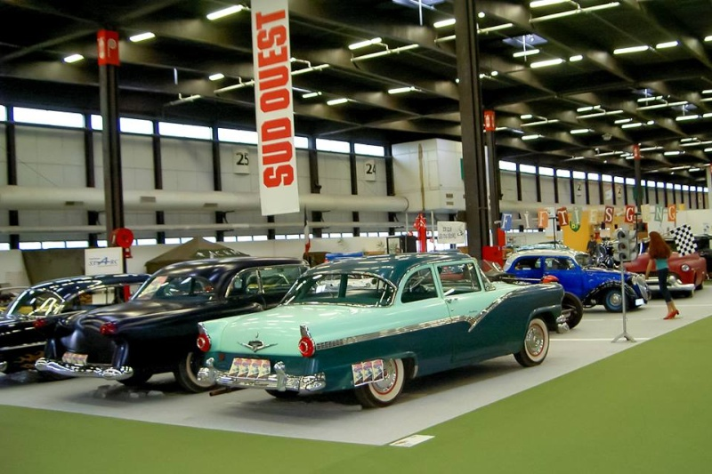 Salon auto moto collection - 2003 - stand fifties gang 10408812